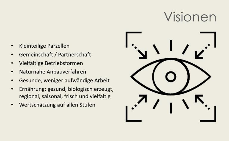 Visionen der Befragten